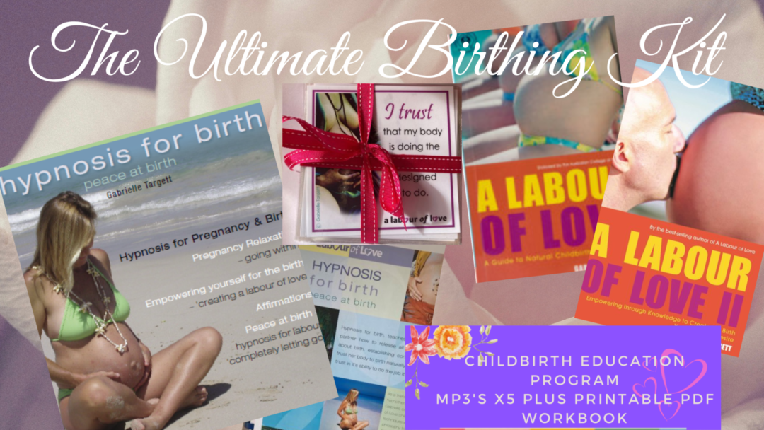 The Ultimate Birthing Kit - preparing You and your partner for your beautiful Labour journey